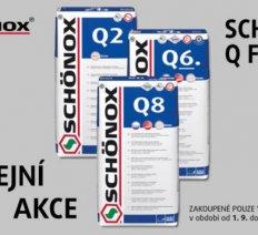 Prodejní akce SCHÖNOX Q FAMILY